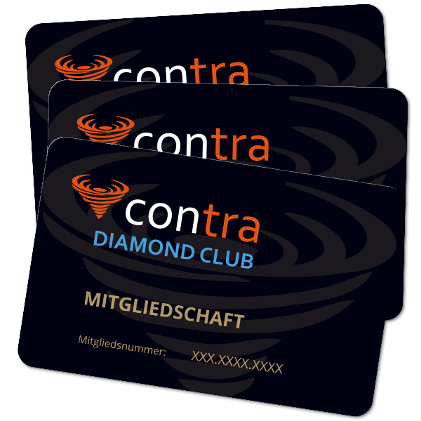 Contra Diamond Club Mitgliedschaft